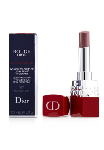 christian dior CHRISTIAN DIOR - Rouge Dior Ultra Rouge - # 587 Ultra Appeal 3.2g/0.11oz 2E4C3BECF8D77AGS_1