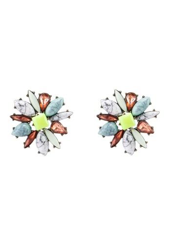 BaubleBar 多色 SUGARFIX by BaubleBar - 花卉鉚釘耳環 5AE7BACFD54DA2GS_1