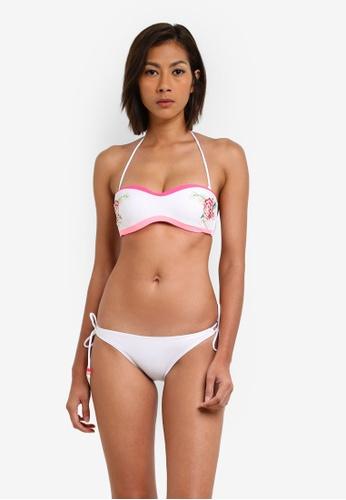 Yshey white Lucia Jade Bikini Set YS681US0S8O7MY_1