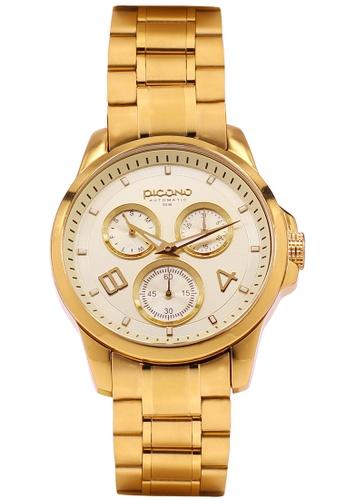 PICONO Watches gold Royal Eunice Multi Dial Water Resistant Analog Quartz Watch PI771AC2WD98HK_1