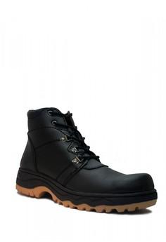 60% OFF Cut Engineer Cut Engineer Safety Boots Jordan Steel Leather Black Rp  445.000 SEKARANG Rp 178.000 Ukuran 39 40 41 42 eda11a6bfd