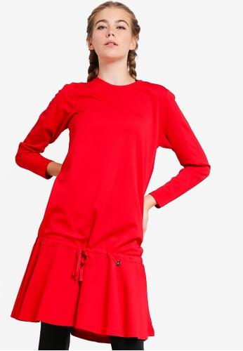 AVIVA red Performance Long Sleeve Top 3A18CAAF0A5EC5GS_1