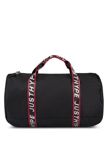 Just Hype black Sporting Duffle Bag E6AEAAC966D40DGS_1
