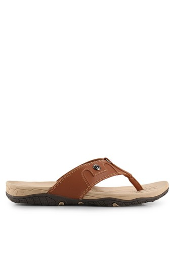 Homyped brown Lopez 01 Men Sandals HO842SH72SOTID_1