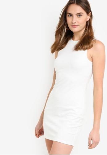 ea50f912856 Shop ZALORA BASICS Basic Rib Mini Dress Online on ZALORA Philippines