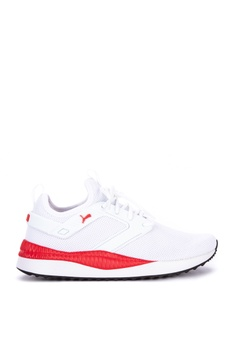 680059d4627 Puma white Pacer Next Cage 2 Sneakers 68016SH491B5FAGS_1