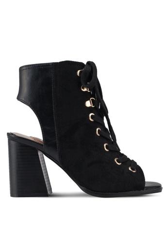 River Island black Lace Up Shoe Boots 362A1SH304E237GS_1