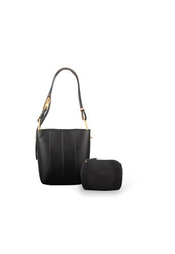 Samuel Ashley black Melanie Bucket Bag - Black B4ADDACB93584DGS_1