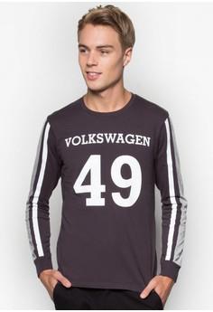 Volkswagen Round Neck Long Sleeve T-Shirt