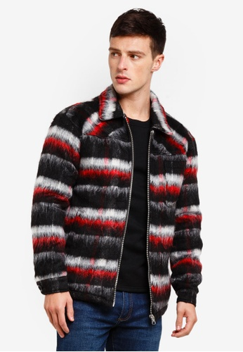 Jack & Jones 紅色 羊毛外套 8788BAA57D3031GS_1