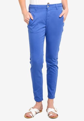 Selected Femme 藍色 Ingrid Chino Pants EC6A8AAF5DEBCEGS_1