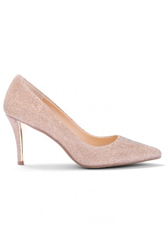 Shu Talk gold Glitter Me Elegant High Heels DDC1ASHCFED8EDGS_1