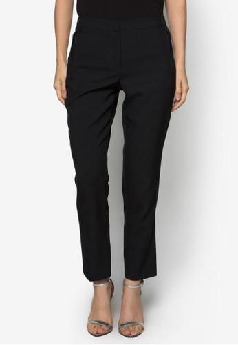 簡約窄管長褲, 服飾,zalora 包包評價 直腳褲