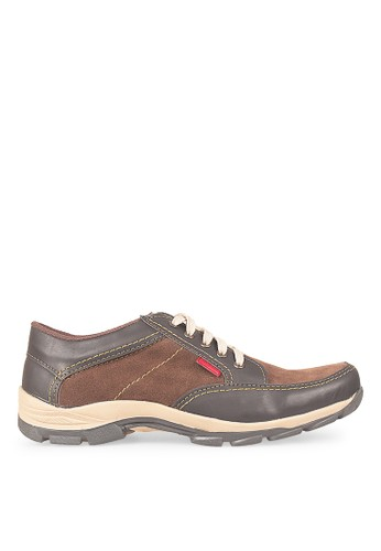 JAVA SEVEN brown JAVA SEVEN Hayate 1 Men's Shoes Sneaker Brown JA154SH02MFDID_1