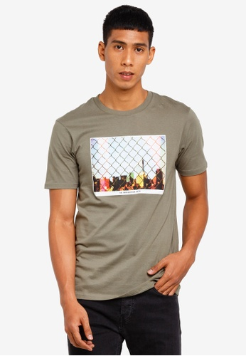 Cotton On 綠色 休閒印花T恤 34CC2AA41A8372GS_1