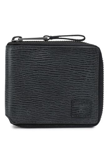 SUPERDRY black Benson Zip Wallet C7448AC6E680A0GS_1