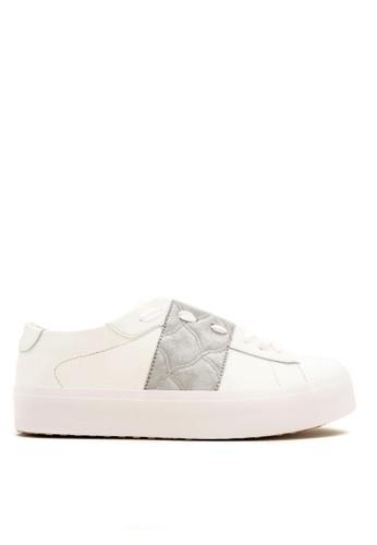CDE white CDE Men Zooey Sneaker White - Dark Gray 24F2DSH81FE78AGS_1