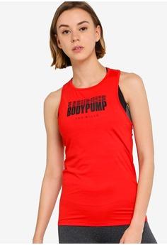 43736de5857836 Reebok red Studio Les Mills Bodypump Activchill Vent Tank Top  6C47BAAE95E250GS 1