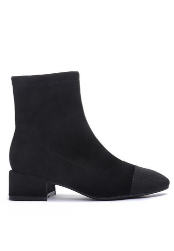 Twenty Eight Shoes Synthetic Suede Ankle Boots 2028-6 6A551SH76EDB69GS_1