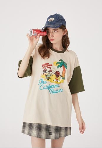Twenty Eight Shoes Trend Printed Short T-Shirt HH0121 FC7B0AA43D3E65GS_1