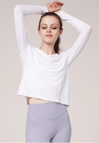 HAPPY FRIDAYS Women's Yoga Long Sleeve Tees DSG190704 4A2BAAA28F6A71GS_1