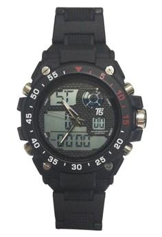 T5 Watch H3449G Digital Plastic Watch