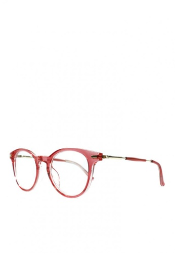 09ab3eb7e50 Shop HEY SWEETY Chloe Round Clear Lens Glasses Online on ZALORA Philippines