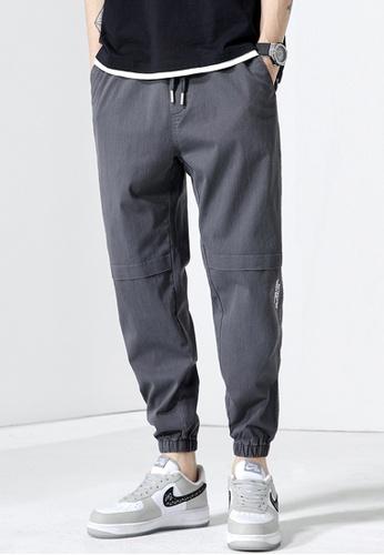 Trendyshop grey Skinny Jogger Pants CCE3CAA695E3B2GS_1