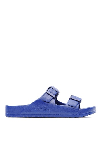 Life8 blue Casual Macaron Series Floating Cooling Slippers-09634-Deep Blue LI286SH0RI7AMY_1