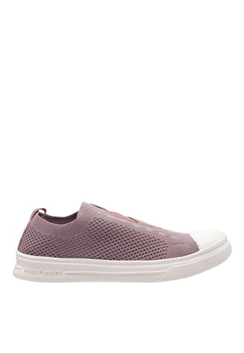 Hush Puppies pink Hush Puppies Women's Schnoodle X Gore Sneaker - Dusty Pink 609FCSH98BD796GS_1