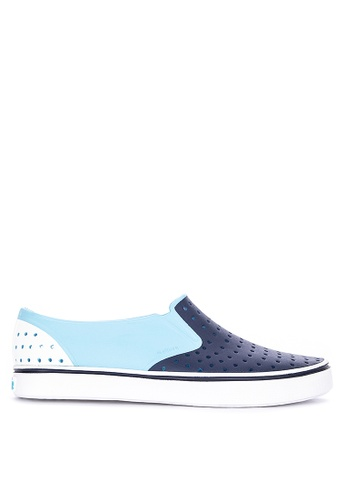 Native blue Miles Block Loafers D0CBASH69939A5GS_1