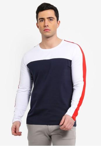 ESPRIT navy Long Sleeve T-Shirt A7D06AA53C72F3GS_1