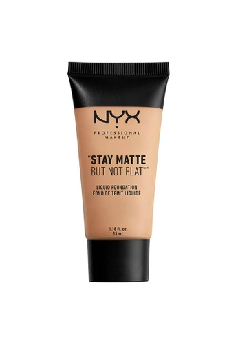 NYX Professional Makeup beige NYX Professional Makeup Stay Matte But Not Flat Liquid Foundation - NATURAL 45DDBBEF50FA9FGS_1
