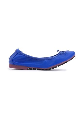 Flatss & Heelss by Rad Russel blue Soft Ribbon Flats - Blue 3A1E4SH3D53AA9GS_1