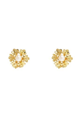 1901 Jewelry gold 1901 Jewelry Mery studs Earrings 19910AC0VFKSID_1
