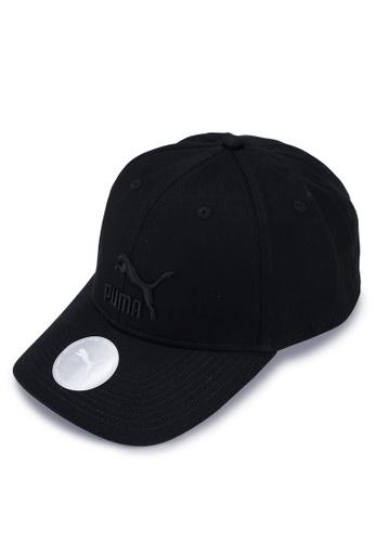 PUMA black Classics Archive Logo Baseball Cap 7F9EAACA57E6B1GS_1