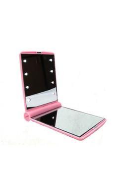 Pocket Makeup Mirror With LED Light