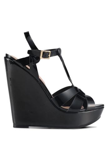 ALDO black Nellyy Wedge Sandals 4ED36SHF5F927AGS_1