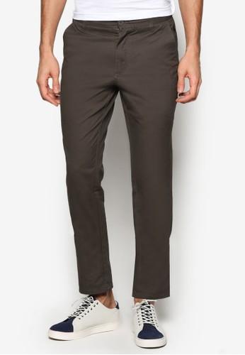簡約棉質長esprit品牌介绍褲, 服飾, 服飾