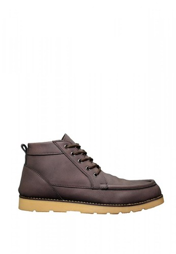 D-Island brown D-Island Shoes Boots Projects Leather Brown 24FA5SHD9C28BDGS_1
