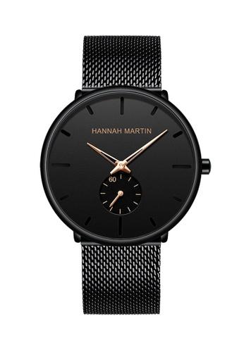 HANNAH MARTIN multi Hannah Martin Classic with small second dial Men's Business Watch A5B07AC47CBD4DGS_1