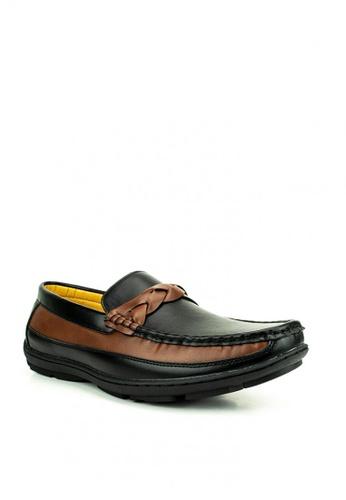 Mario D' boro Runway black Byron Loafers A933BSH7B95507GS_1