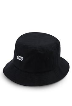 bc88df36fd9 OBEY black Sleeper Bucket Hat BFB91ACC403B5EGS 1