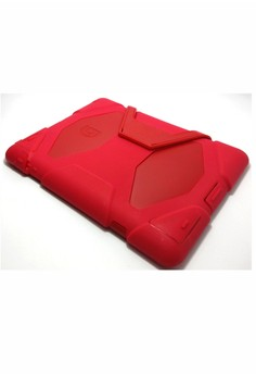 Heavy Duty Shockproof Case for iPad 2/3/4 (Red)