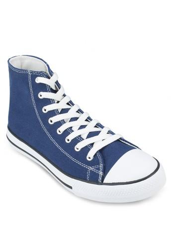 基本款高筒帆布鞋, 鞋, 休閒esprit salon hk鞋