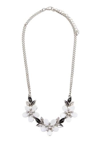 White Nazalora 包包 pttture Necklace, 飾品配件, 項鍊