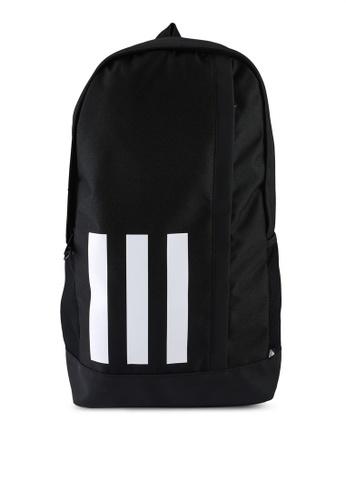 ADIDAS black essentials 3-stripes backpack A901CAC5E082F6GS_1