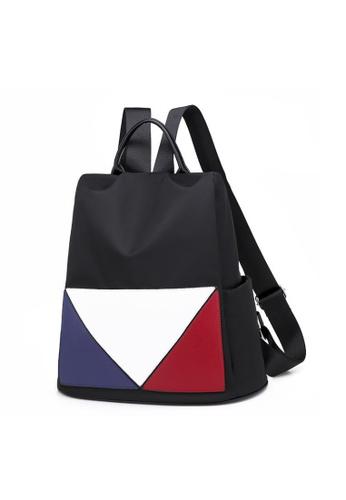 TCWK black TCWK Korea Style Women Fashion Backpack - Black 35B07AC4A70ED8GS_1