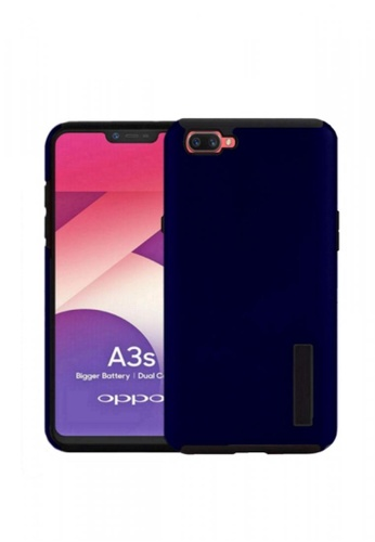 great fit b5174 95f9c Dual Pro Shockproof Case for Oppo A3S