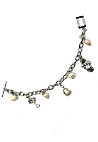 Paulini silver Charm Bracelet Ballerina (R) PA011AC98RIRMY_1